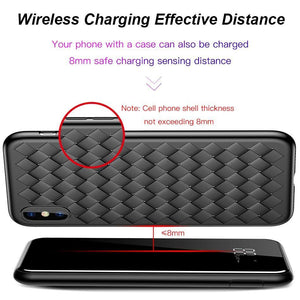 8000mAh QI Wireless Power Bank Charger For iPhone Samsung With Dual USB Charger