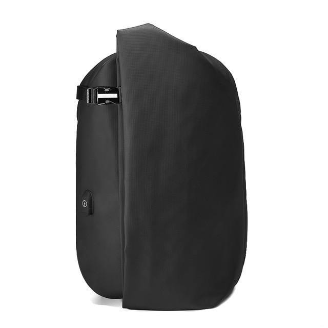 Male Fashion Travel Backpack Large Capacity Multifunction Rucksack with USB Charger 15.6