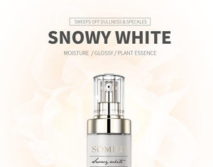 Luxury Korean Cosmetics Snowy White Face Serum Whitening Women Firming Emulsion Plant Essence Skin Care Wrinkle Cream - moonaro