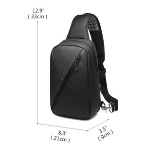 Travel Crossbody Bag Men Casual Chest Pack Water Repellent Messengers Bags Teenage Shoulder Bag Male