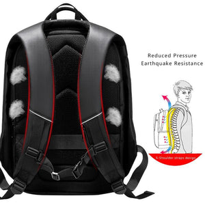 "Multifunction 15.6"" Laptop Backpack For Men Water Repellent Teenage School Bag Large Capacity Travel Backpack Male"