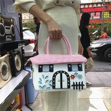 Load image into Gallery viewer, High quality ladies handbags fashion personality cartoon cute small house creative bag diagonal cross bag handbag casual bag