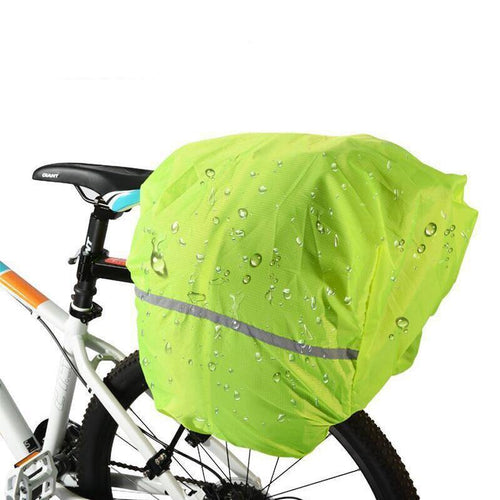 Rainproof Dust-proof Covers For Bicycle Bag Reflective Cycling Backpack Rain Cover