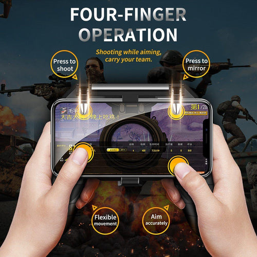 Gaming Pad Stand Joysticks Joypad For PUBG Mobile Game Trigger Fire Button Gamepad