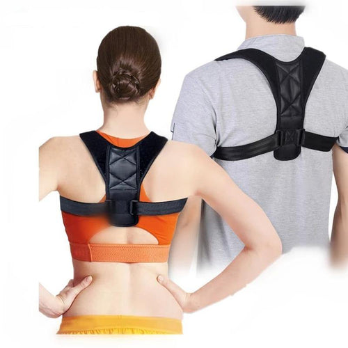 Medical Adjustable Clavicle Posture Corrector Men Women Upper Back Brace Shoulder Lumbar Support Belt