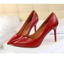Load image into Gallery viewer, Thin Heels Women Pumps Career OL Sexy Shoes - moonaro