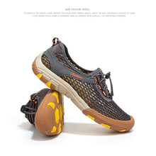 Load image into Gallery viewer, Comfortable Casual Slip-on Breathable Air Mesh Flats Sneakers Water Loafers Shoes