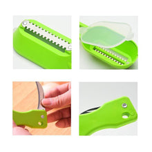 Load image into Gallery viewer, Cleaning Fish Skin Steel Scales Brush Shaver Fast Remover Fish Knife Seafood Tools Peeler