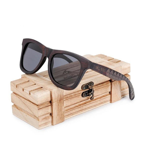 Sunglasses Men Male Bamboo Wooden Polarized Sun Glasses Ladies With wood Box