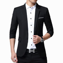 Load image into Gallery viewer, Men's Blazers Jacket Slim Fit Style Casual Blazer Men Jacket Coat Outwear