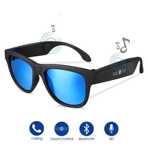 Bone Conduction Sunglasses Music Zungle Trending Products Smart Men Women Polarized Audio Sun Glasses