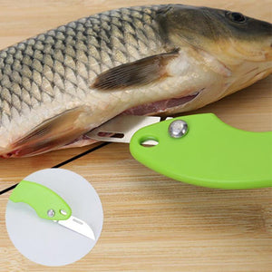 Fish Scales Skin Remover Scaler and Knife Fast Cleaning Fish Skin