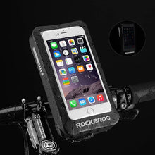"Load image into Gallery viewer, MTB Road Bike Bag 6"" Waterproof Reflective Motorcycle Bicycle Touchscreen Rearview Mirror"