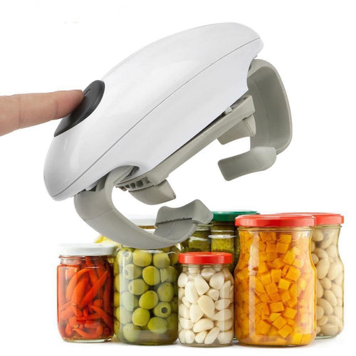 Automatic Tin Opener Glass Canned Kitchen Tools Creative Electric Can opener Jar Opener
