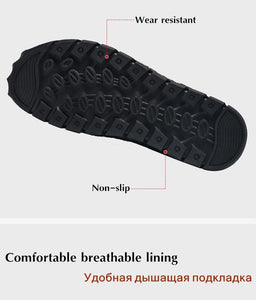 Breathable Mesh Men's Casual Outdoor Quick-drying Flat Light Comfortable Moccasins Male Shoes