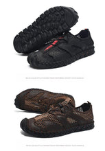 Load image into Gallery viewer, Breathable Mesh Men's Casual Outdoor Quick-drying Flat Light Comfortable Moccasins Male Shoes