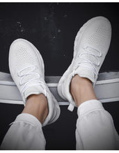 Load image into Gallery viewer, Casual Sneakers Men Flats Mesh Loafers Fly Knit Breathable Summer Sawol Chaussure Homme