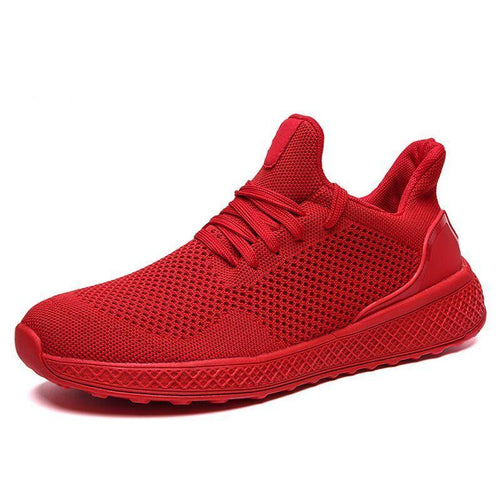 Fashion Men's Casual Flat Lightweight Comfortable Breathable Mesh Men's Walking Sneakers