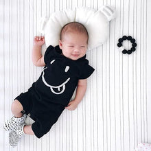 Load image into Gallery viewer, Baby Rompers Summer Style Powered Baby Boy Girl Newborn Infant Rabbit Short Sleeve