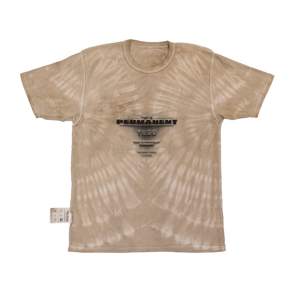YUSU Coffee Tie-Dye T-Shirt