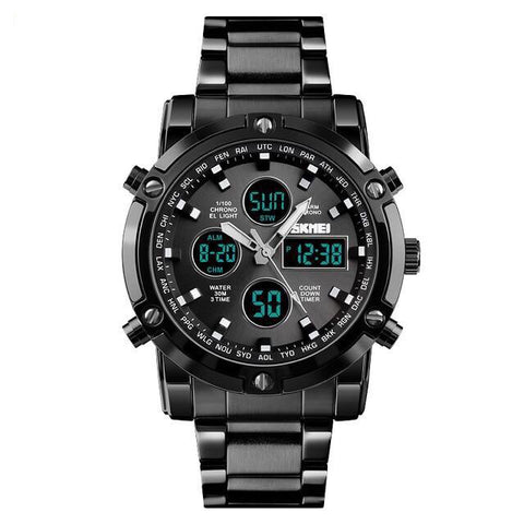 Mens Quartz Analog Watch Luxury Fashion Sport