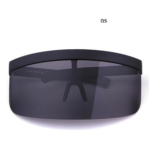 Women Oversize Shield Visor Sunglasses