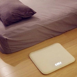 Pressure-Sensitive Carpet Alarm Clock