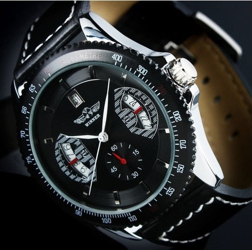 WINNER Men Fashion Auto Mechanical Watch