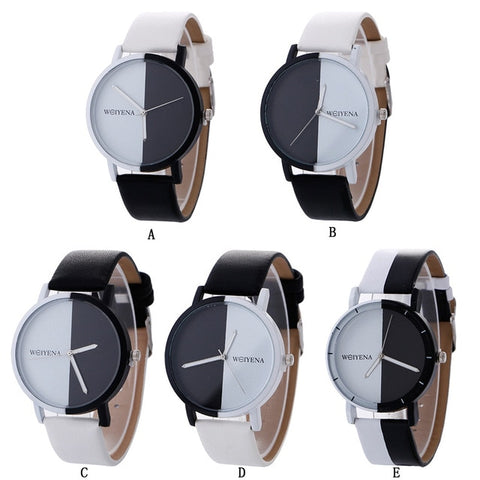 Brand Women's Watches Fashion Leather