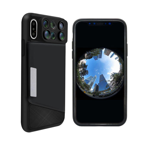 6 in 1 Camera Lens Phone Case for iPhone XR, XS, and XS Max