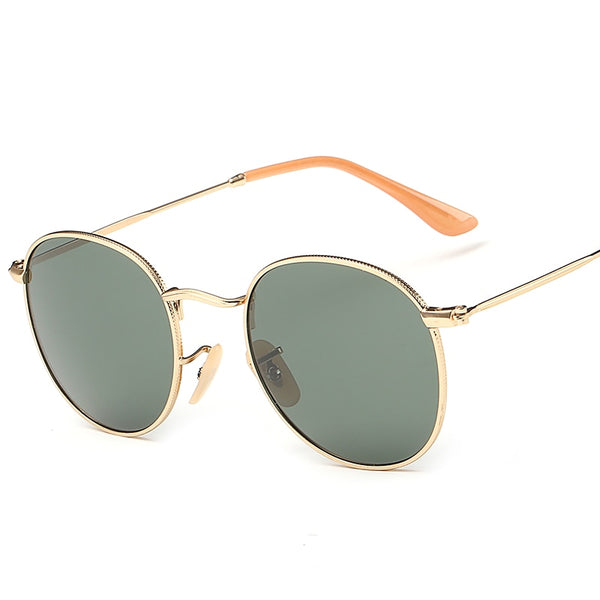 Round Sunglasses Polarized Women Men