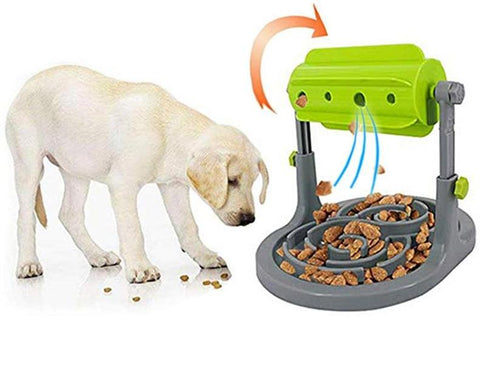 Interactive Dog Food Dispenser