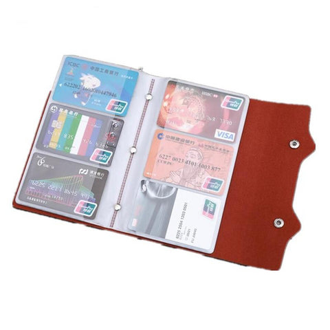 PURDORED 1 pc 108 Slots Card Holder