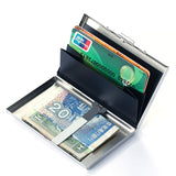 Rfid Stainless Steel Silver Metal Bank