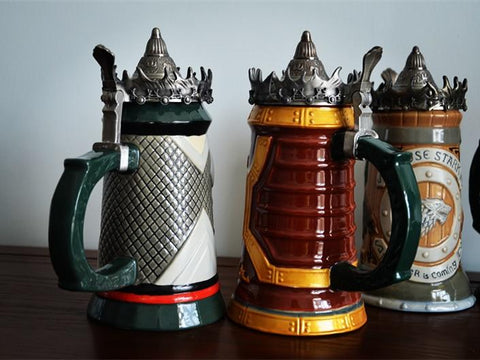 Game of thrones signature ceramic beer mug