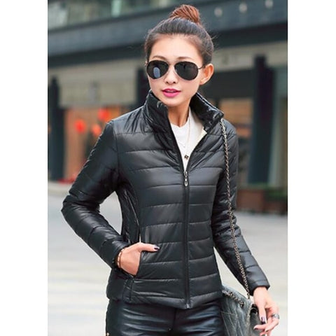 Winter Women Padded Warm Coat Ladies Ultra Light