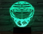 Hockey Helmet 3D LED illusion Lamp