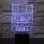 Kaaba Saudi Arabia 3D illusion Lamp