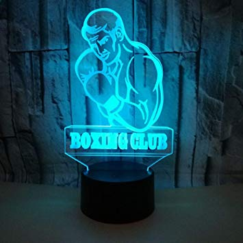 Punch Out (NES) 3D illusion Lamp