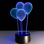balloon 3d lamp