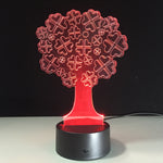 New Santa Tree 3D illusion Lamp