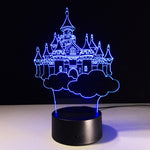 Moscow Kremlin 3D illusion Lamp