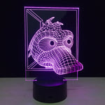The Crazy Duck 3D illusion Lamp