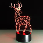 Constellation Deer 2 3D illusion Lamp