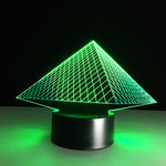 Chichen Itza - Mexican Culture 3D LED illusion Lamp