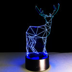 Constellation Deer 3D illusion Lamp