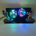 Goku VS. Vegeta Action Figure 3D LED illusion Lamp