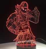 Battle Royale (Bazooka, Bus, llama, Raven) 3D LED illusion Lamp