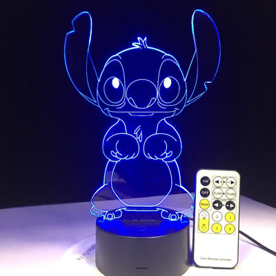 stitch's great escape - 3D Lamp