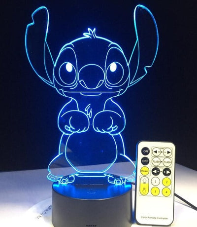 Alien Pet 3D LED illusion Lamp